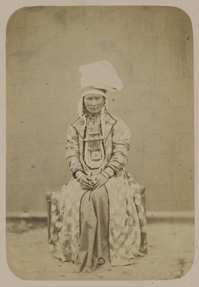 kyrgyz woman
